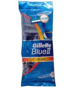 Gillette Blue II Plus 5-pack