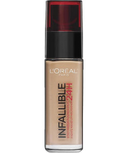 L'Oreal Infallible 24H Stay Fresh Foundation 125 Natural Rose 30ml