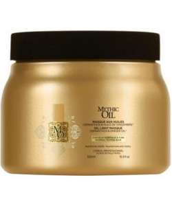 L'Oreal Mythic Oil Masque Normal To Fine Hair 500ml