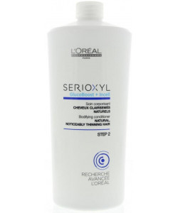 L'Oreal Serioxyl Step 2 Bodifying Natural Thinning Hair Conditioner 1000ml