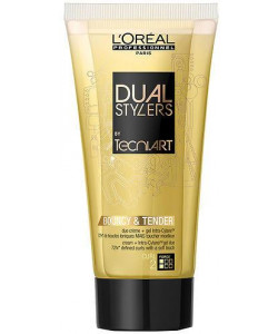 L'Oreal Tecni. Art Dual Stylers Bouncy & Tender Cream And Gel Glue 150ml