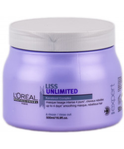 L'Oreal Expert Liss Unlimited Masque 500ml