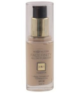 Max Factor Facefinity 3 In 1 Foundation 30 Porcelain 30ml