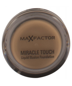 Max Factor Miracle Touch Liquid Illusion Foundation 85 Caramel 11.5g