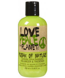 TIGI Love Peace & Planet Freak Of Nature Volumizer & Thickener 250ml